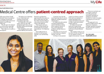 Medical Centre offers patient-centred approach