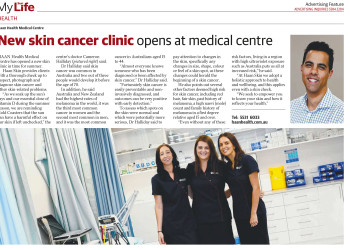 New skin cancer clinic opens at medical centre