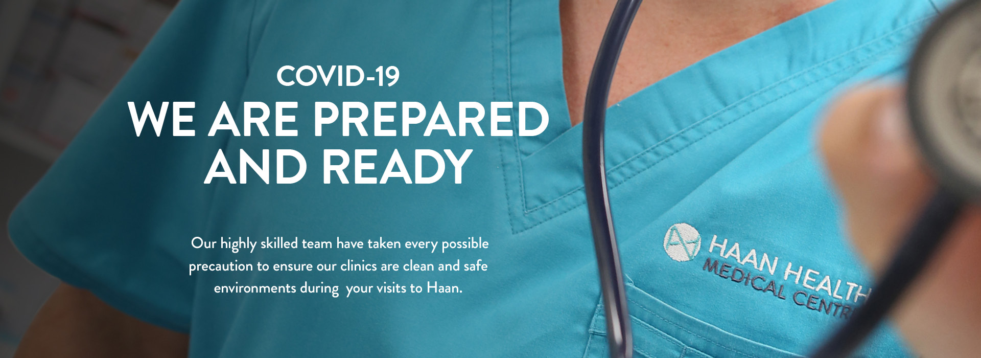 Covid-19 : Haan Health is prepared and ready