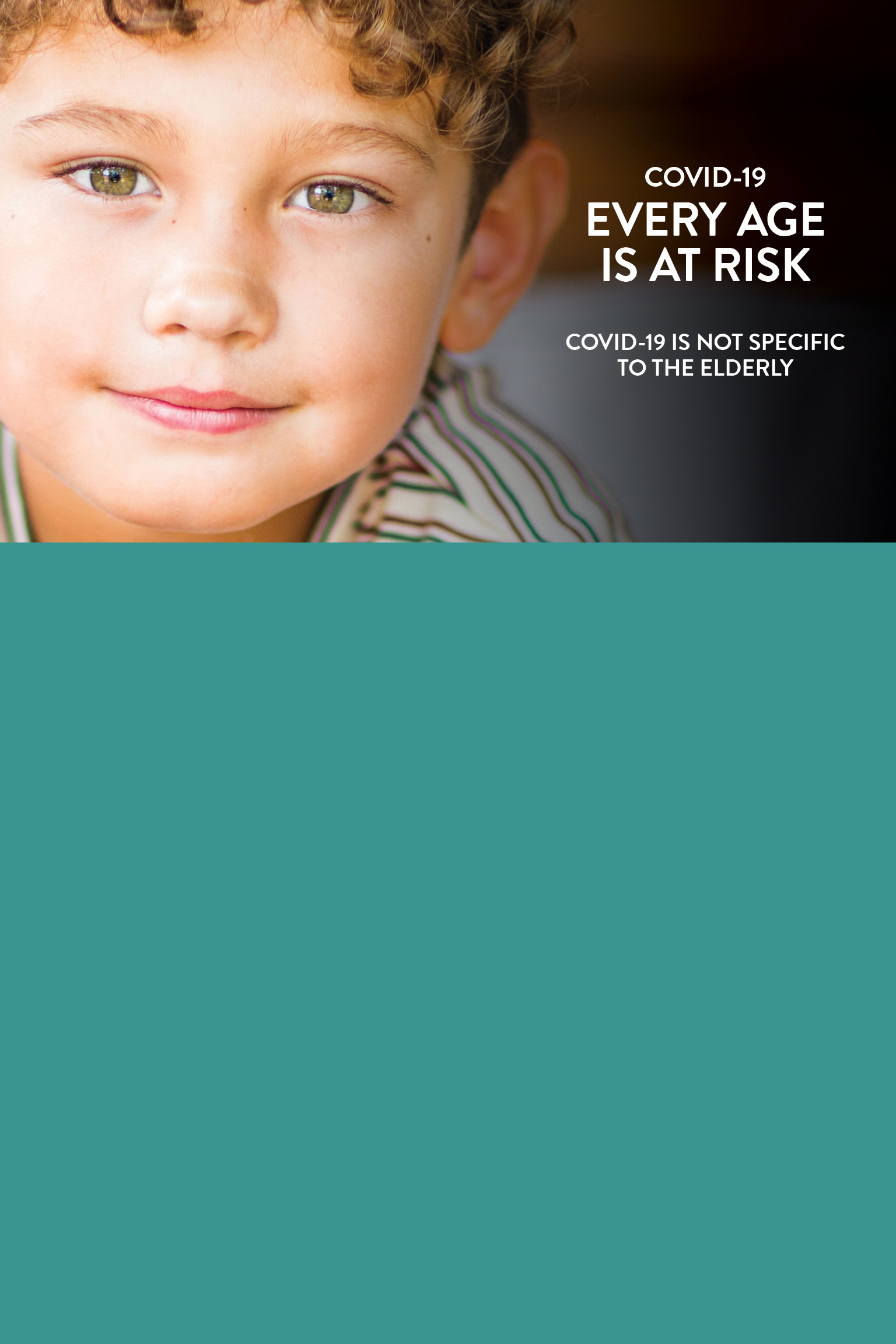 Covid-19 : Every age is at risk